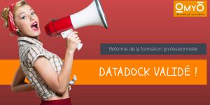 Déclaration Datadock Validé