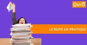 Le RGPD en pratique